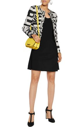MOSCHINO Printed wool-blend jacket
