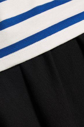 PETIT BATEAU Layered striped cotton dress