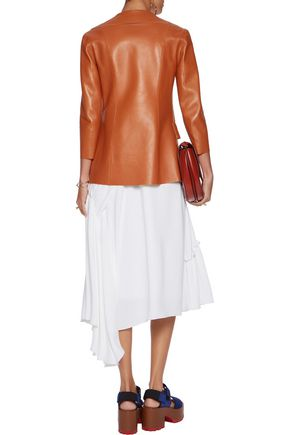 MARNI Two-tone leather blazer