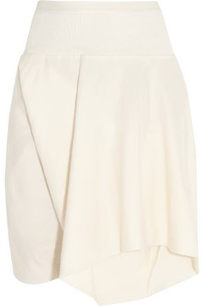 RICK OWENS Cotton-gabardine shorts
