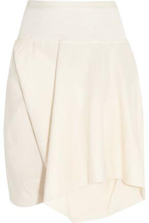 RICK OWENS Cotton-gabardine shorts