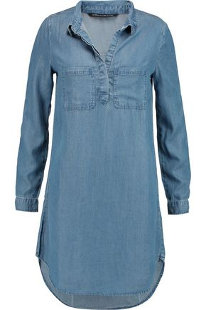 W118 by WALTER BAKER Rena chambray mini dress