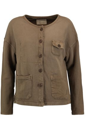 CURRENT/ELLIOTT The Workwear cotton-jersey jacket