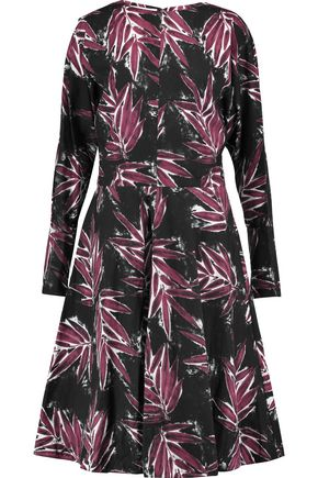 MARNI Printed cotton-canvas dress