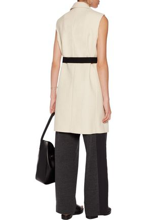 BRUNELLO CUCINELLI Belted cotton-blend bouclé vest