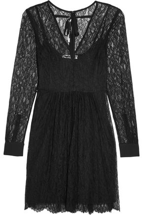 McQ Alexander McQueen Lace mini dress