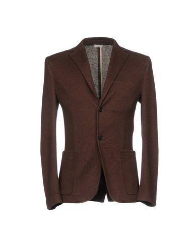 Фото - Мужской пиджак PAOLO PECORA темно-коричневого цвета