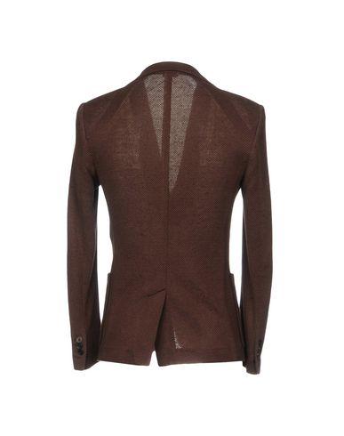 Фото 2 - Мужской пиджак PAOLO PECORA темно-коричневого цвета