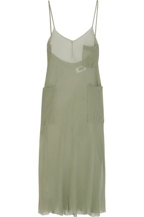 MM6 by MAISON MARGIELA Chiffon midi dress