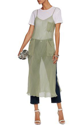 MM6 by MAISON MARGIELA Chiffon midi dress