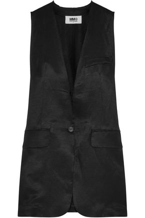 MM6 by MAISON MARGIELA Linen-blend vest