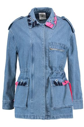 SJYP Embellished denim jacket