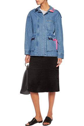 SJYP Embellished denim jacket