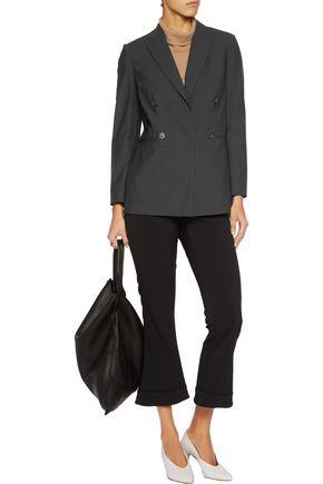 BRUNELLO CUCINELLI Embellished wool-blend blazer