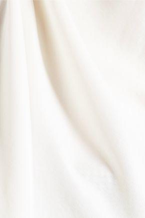 BRUNELLO CUCINELLI Matte-silk top