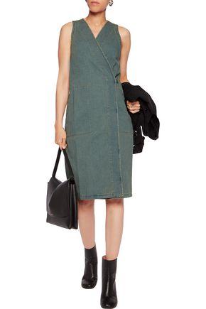 MM6 by MAISON MARGIELA Denim wrap dress