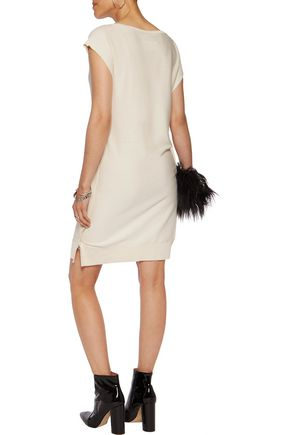 MM6 MAISON MARGIELA Knitted cotton mini dress
