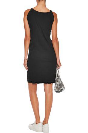 MM6 MAISON MARGIELA Tie-front jersey mini dress