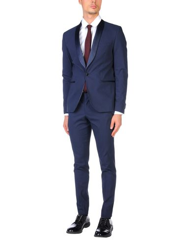 Фото - Мужской костюм  темно-синего цвета