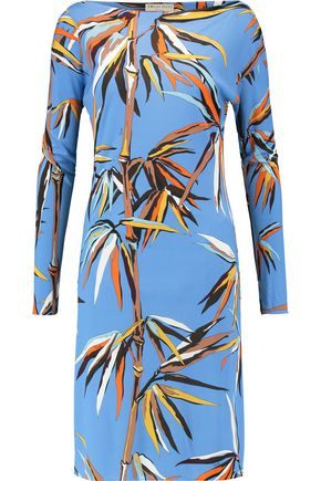 EMILIO PUCCI Printed stretch-knit dress