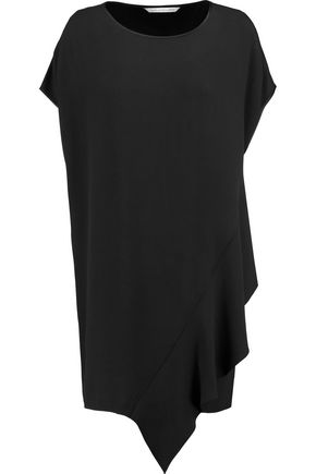 DIANE VON FURSTENBERG Lolani asymmetric crepe mini dress