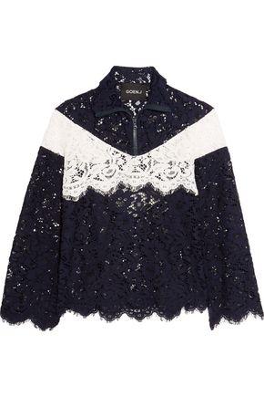 GOEN.J Fluted neoprene mini dress