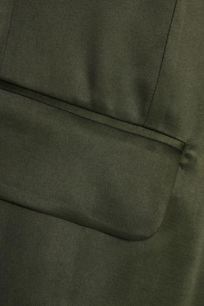 MM6 by MAISON MARGIELA Satin-crepe blazer
