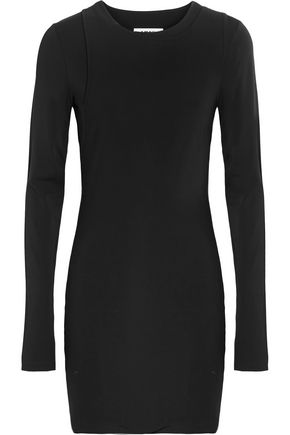 MM6 by MAISON MARGIELA Layered stretch-jersey mini dress