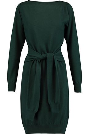 MM6 by MAISON MARGIELA Knotted wool sweater dress