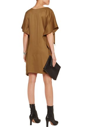 MM6 MAISON MARGIELA Tiered satin-crepe dress