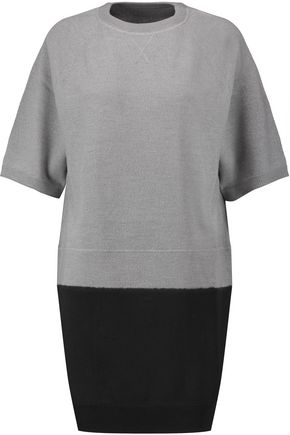MM6 by MAISON MARGIELA Two-tone wool mini dress