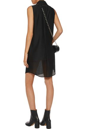MM6 by MAISON MARGIELA Slub twill mini dress