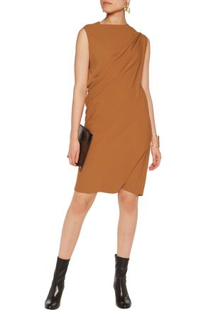 MM6 by MAISON MARGIELA Asymmetric draped crepe dress