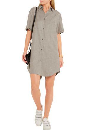MM6 by MAISON MARGIELA Wool-blend gabardine mini dress