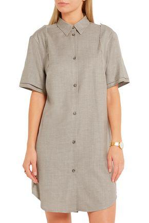 MM6 MAISON MARGIELA Wool-blend gabardine mini dress