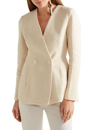 BY MALENE BIRGER Cotton-blend tweed blazer