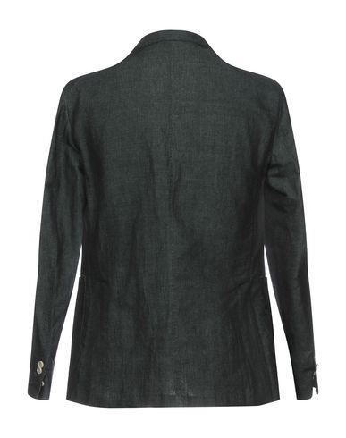 Фото 2 - Мужской пиджак GABARDINE темно-зеленого цвета