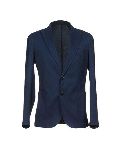 VICTOR COOL メンズ テーラードジャケット ブルー 48 ポリエステル 85% / レーヨン 13% / ポリウレタン 2%