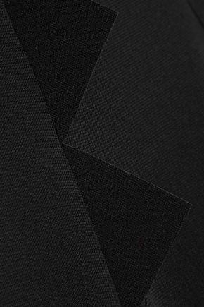BOUTIQUE MOSCHINO Stretch-crepe maxi dress
