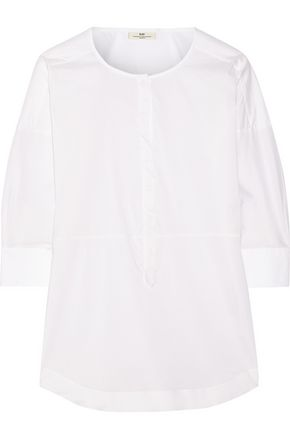 DAY BIRGER ET MIKKELSEN Starch cotton-blend poplin shirt