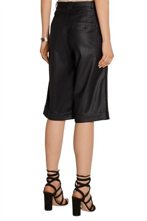 DAY BIRGER ET MIKKELSEN Pleated twill shorts