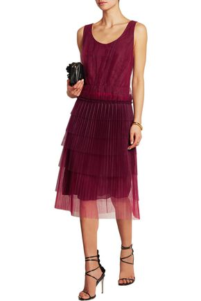 BURBERRY Tiered tulle dress