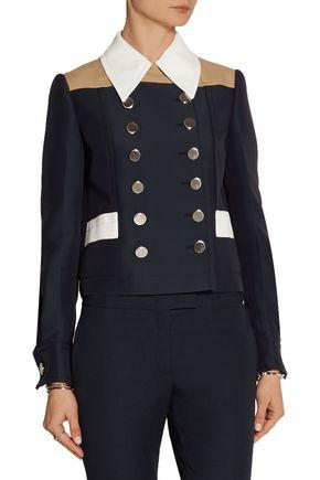 MIU MIU Color-block twill jacket