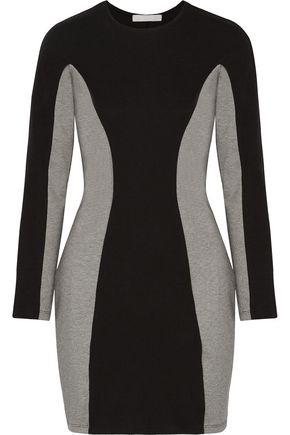 KAIN LABEL Luna two-tone stretch-jersey mini dress