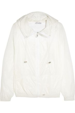 L'ETOILE SPORT Hooded shell jacket