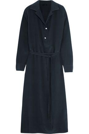 THE ROW Luid silk crepe de chine dress
