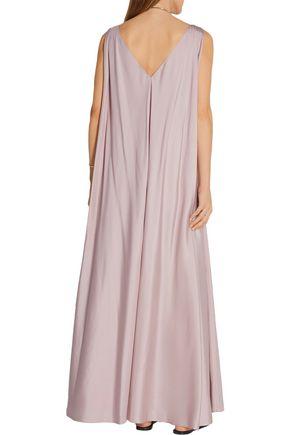 THE ROW Adabra silk-poplin maxi dress