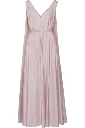 THE ROW Adabra silk-poplin maxi dress