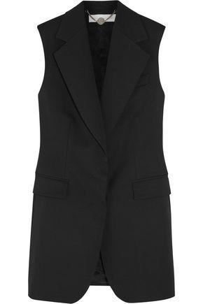 STELLA McCARTNEY Wool-piqué vest