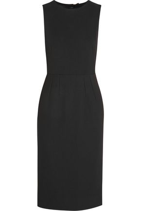 DOLCE & GABBANA Embellished stretch-crepe dress